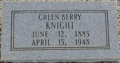 Green Berry Knight