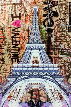 Eifel Tower artwork.