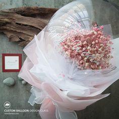 Balloon Crafts, Balloon Gift, Bubble Balloons, Bubbles, Bubble Diy, Paper Crafts, Diy Crafts, Bouquet, Gift Boxes