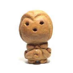 木彫り土偶2号