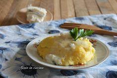 Polenta con gorgonzola