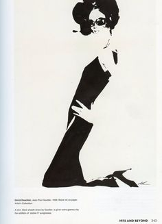 black, white, glam