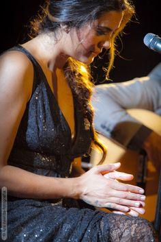 Alba Molina en el concierto que la Fundación Proyecto Don Bosco organizó en Caja sol   Fotografía: Luis Castilla