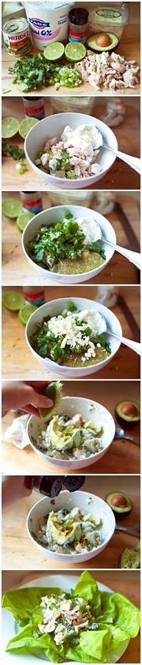 Deliciosa ensalada de atun y yogurt. Busca más recetas en http://www.1001consejos.com/