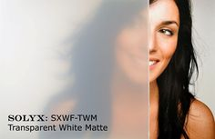 SOLYX: SXWF-TWM - Transparent White Matte Window Film - Frosted polyester translucent/transparent effect. Ideal for obscuring visibility and excellent light transmission. Available in your custom length needed x or wide. Frosted Window Film, Stained Glass Window Film, Etched Glass Vinyl, Fiberglass Windows, Window Privacy, Sandblasted Glass, Window Films, Bathroom Windows, Window Dressings