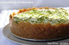 karolina-azzaro: Limetkový Cheesecake (bez pečenia)