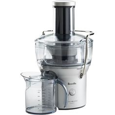 Breville® Compact Juice Extractor in Juicers | Crate and Barrel  This is my beloved juicer.  It's on sale now at Crate and Barrel online for 25% off if you use code SAVE25 at checkout. So normally $99.95 and with code $74.96. I love my juicer!