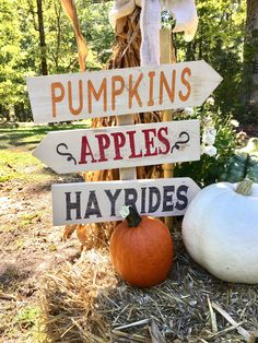 A personal favorite from my Etsy shop https://www.etsy.com/listing/248847852/fall-decor-pumpkins-apples-hayrides