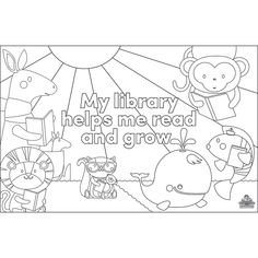 Demco® Upstart® Books Before Kindergarten Placemat 1000 Books Before Kindergarten, Kindergarten Coloring Pages, Early Literacy, Placemat, Reading, Reading Books