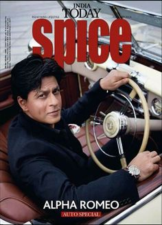 Shah Rukh Khan - India Today Spice Magazine cover - February 2014 issue.