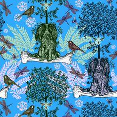 Cat & dog - Michaël Cailloux #cats #dogs #chien #chat #illustration #illustrationart #papierpeint #wallpaper #drawing #dessin