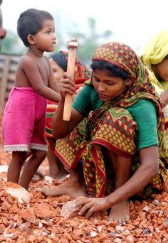 "Bangladesh : ""making little rocks outta big rocks all day..."""