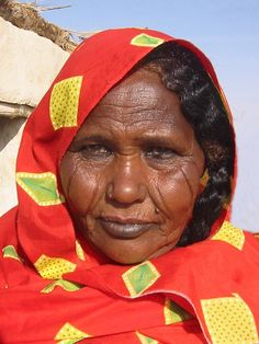 "Sudanese Women | Northern Sudanese woman with tribal marks on her face""The Bantu ethnic ..."