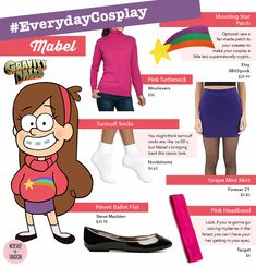 Everyday Cosplay: Mabel Pines