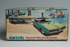AMT Quarter Masters model kit box art