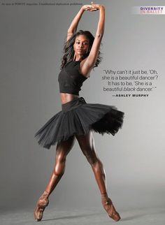 Beyond Role Models: Straight Talk From Ashley Murphy, Ebony Williams and Misty Copeland Misty Copeland, Black Dancers, Ballet Dancers, Ballet Beautiful, My Black Is Beautiful, Baile Jazz, Ashley Murphy, Black Ballerina, Alvin Ailey