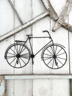 bicycle wall art bike wall art cyclist gift modern wall art wall art decor mid century modern. Black Bedroom Furniture Sets. Home Design Ideas