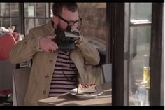 Ad demonstrates how our digital behavior doesn't translate into the analog world.