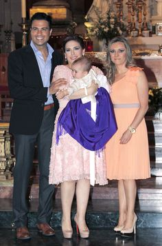 "Jaime Camil padrino de bautizo de la hija de Angelica Vale ""Angelica Masiel"""