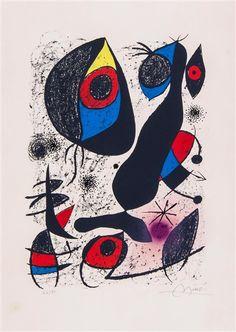 Joan Miró, Untitled, from Miró à l'encre