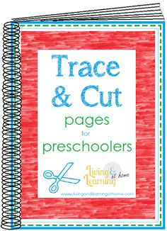 Trace and Cut Pages for Preschoolers @Amy Lyons Lyons Maze