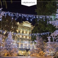 The sparkling Hôtel Hermitage Monte-Carlo ! Hermitage Monaco, Christmas And New Year, Merry Christmas, Places Around The World, Around The Worlds, European Tour, Festival Lights, Winter Solstice, French Riviera