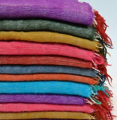 #Yak Wool#bright colours#handwoven#shawls#blankets