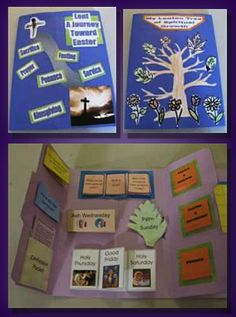 Lent lapbooks - sounds like a great learning project