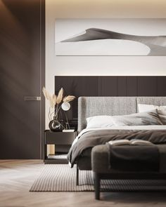 A Cashmere Feel in the Apartment in Berlin by Dezest Design - An interior space designed with a stellar cashmere color palette. Contemporary Apartment, Contemporary Bedroom, Modern Bedrooms, Contemporary Kitchens, Luxurious Bedrooms, Apartment Interior Design, Modern Interior Design, Luxury Interior, Interior Sketch