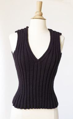 Fitted Top Pattern (Knit)