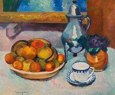 Henri Manguin - Nature morte aux fruits, 1909 | Flickr - Photo Sharing!