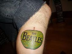 The Beatles tattoo Beatles Tattoos, Dad Tattoos, Badass Tattoos, Sleeve Tattoos, Cool Tattoos, Flash Tattoos, Tatoos, Beatles Art, The Beatles