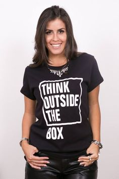 Tshirt Think Outside the Box