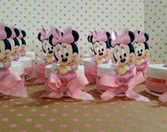 Minnie Mouse Baby Shower Decorations and Party Favors - Baby Shower Ideas - Themes - Games Free Baby Shower Invitations, Baby Shower Party Favors, Baby Shower Parties, Baby Shower Decorations, Shower Centerpieces, Mini Mouse Baby Shower, Baby Shower Gifts For Boys, Baby Mouse, Minnie Mouse Cupcake Toppers