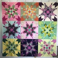 BACK IN STOCK!!! Reserve your kit now! Fussy-cut fun prints for block centers in this mostly pastel beauty—challenge yourself to create some intricate blocks. BRAND NEW Tula Quilt Kit. WE ARE SELLING OUT FAST! Pattern by the amazing Carl Hentsch. Quilt kit includes Tula Pink fabrics from her Spirit Animal collection to