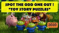 CAN YOU SPOT THE ODD ONE OUT? - DISNEY TOYSTORY PUZZLES    BEST BRAIN WO... Animated Cartoons, Cool Cartoons, Cartoon Fun, Disney Villains, Disney Movies, The Odd Ones Out, Toy Story Movie, Disney Paintings, Pet Water Fountain
