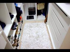Tour pelo meu closet - Dicas para ambientes pequenos - YouTube