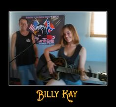 Billy Kay with the lovely Savannah performing at Roadhouse 95 in Ft. Mohave, AZ
