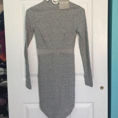 LF Light Grey Knit Mesh Dress NWT. LF Dresses