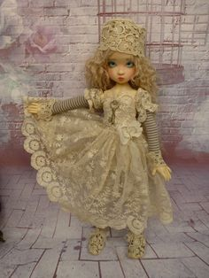 dress dolls bjd msd ( layla , miki  kaye wiggs  ) ,designed  by marianna
