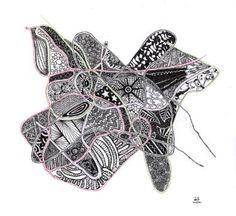 "Saatchi Art Artist Natalia Luna; Drawing, ""Pedaceria"" #art"