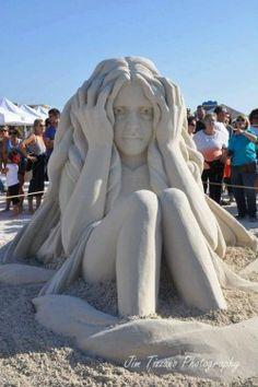 Outstanding sand art.. like it??