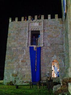 Algumas imagens da Recriação Histórica do Torneio de Valdevez realizada no Paço de Giela em Arcos de referentes ao Sábado à noite