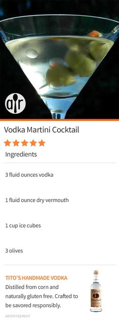 vodka-martini-cocktail-vodka-martini-cocktail-perfect-martini-i-also-like-to-add-a-dash-of-the-olive-juice/ - The world's most private search engine Vodka Martini, Vodka Cocktails, Cocktail Drinks, Martinis, Party Drinks, Fun Drinks, Yummy Drinks, Alcoholic Drinks, Juice Drinks