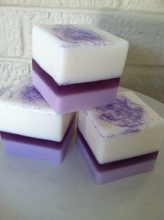 Berry Bliss Glycerin Petite Four Tea Cake Soap, Handmade Glycerin Soap, Spring Soap, Easter Soap. $5.75, via Etsy.