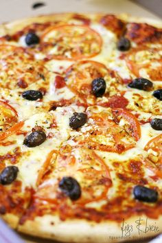 Zante Vegetarian, Supreme Gourmet Pizza Bar