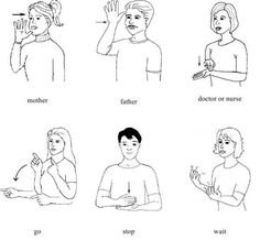 how  to sign language for children ?