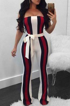 Keaac Women Fashion Sequins V Neck Sleeveless Bodycon Long Jumpsuit Romper Clubwear