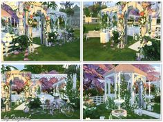 Marriage park for you!  Found in TSR Category 'Sims 4 Community Lots'