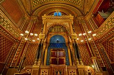Spanish Synagogue, Prague, HDR